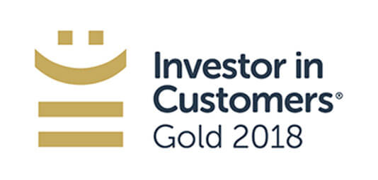 Investors in Customers Gold 2018